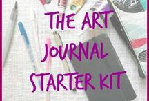 Art Journaling Supplies