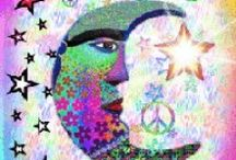 Peace Signs & Hippie Stuff / My obsession with peace signs and hippie stuff ... / by Jacki Becker