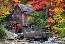 Water Wheels , Covered Bridges & Mills / by You