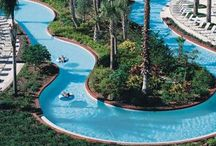 Lazy Rivers / The lazy river is, was, and will always be one of the most popular attractions at any water park. Here are some great ones.