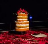 Cake and Dessert Table / At creative Destination Event Company we love sweet sweet sweets so the cakes are one of our favorite parts of your wedding design...