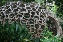 Garden Ideas / Some quirky and unusual ideas for your garden which will make a lovely statement.
