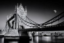 Tower bridge of London, United Kingdom / Tower Bridge is a combined bascule and suspension bridge in London, England which crosses the River Thames. It is close to the Tower of London and has become an iconic symbol of London.