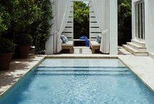 Swimming pools / Outstanding designs of swimming pools. / by Ekin Tunçel