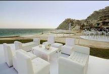 Lounge Decor / Destination wedding lounge decor for your wedding in Los Cabos!
