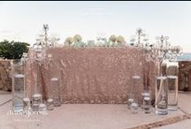Sweetheart Tables / Bride and groom tables from real Cabo weddings