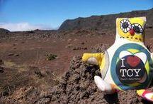 Les péripéties de Foucy / Notre mascotte fait le tour du monde pour promouvoir le territoire !