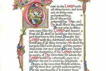 Calligraphy Illumination / Calligraphy