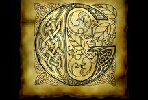 Calligraphy Celtic, Cadel