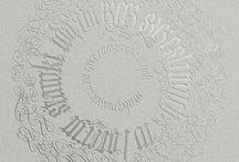 Calligraphy Circle / カリグラフィー円形