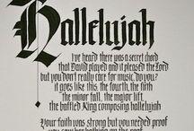 Calligraphy Black Letter