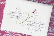 Calligraphy Letter arts / Calligraphy