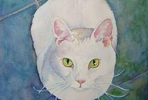 Cat ❤️ Watercolor