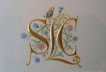 Calligraphy Monograms