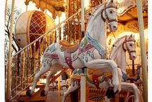Carousels horse & Coin operator horse