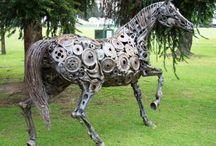 Horse ❤️ Metal Art