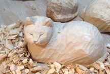 Cat ❤️ Sculpture & Figurine