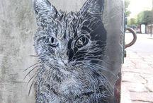 Cat ❤️ Street Art