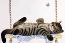 Cat ❤️ Anne Mortimer