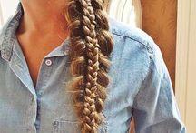 Hairstyles / Cute braids & hairstyles