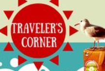 Travelers Corner / Travelers love talking. They love food, culture, experiences, humans, borders, animals and just everything the world has to offer. They just want to travel and it is unconditional. So we plan to give back to such a generous community of Travelers by giving them an opportunity to talk about themselves and spread the word. Purely Unconditional. Traveler's Corner – A Strict Travelers Zone