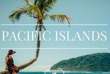 PACIFIC ISLANDS TRAVEL / Travel inspiration for Pacific Islands. From New Caledonia, Cook Islands, Fiji, Samoa, Hawaii, Vanuatu and loads more!