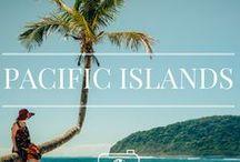 PACIFIC ISLANDS TRAVEL / Travel inspiration for Pacific Islands. From New Caledonia, Cook Islands, Fiji, Samoa, Hawaii, Vanuatu and loads more!