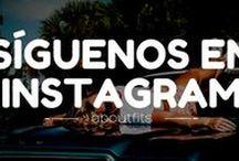 ¡Síguenos en instagram! / Encuéntranos como @aboutfits -  Blog de moda y estilo creado por consultoras de imagen  #instagram #picoftheday #aboutfits