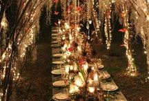 Ideas For Table Settings.. / Some beautiful Ideas for table settings in the occasion of parties, festivities, and when we are hosting guests.