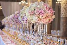 wedding tables setting