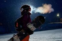 Snowboard lovers