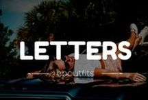 Letters / I wish you were here... #letters #love #frases