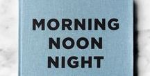 Morning Noon Night / Morning Noon Night: A Way of Living from Soho House, follows the bestselling Eat Drink Nap. The 300-page cloth-bound book invites readers behind the scenes at the Houses; following the day the Soho House way from the second you wake up to the moment you go to bed.