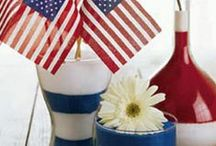 July 4th Crafts, Recipes & Party Ideas / Happy 4th of July, crafts, recipes, party ideas and more