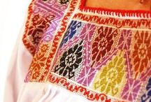 Mexican Embroidery & Textils / by Elsa Garnica