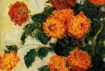 Impresionismo y Post-Impresionismo  / Monet  Pissarro Sisley Manet, Cezanne, Matisse, Gaugin / by Elsa Garnica