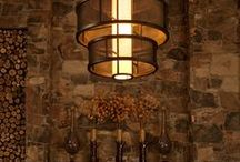 Focus on the Fireplace / Fireplace lighting not only is functional, but it also helps highlight your fireplace as a focal point in your home. Here's a collection of Hammerton Lighting projects and others that inspire us!