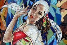 Mosaics&Stained glass/Mozaika&Vitráž