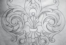 Stencils&Silhouette/Ornamenty&Silueta / ♣️