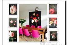 Bloemenschilderijen / De mooiste bloemenschilderijen worden in opdracht voor u gemaakt door MyPainting.nl