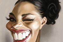 Caricatures/Karikatúry / Fanny Faces ♣️ Smiešne Tváre