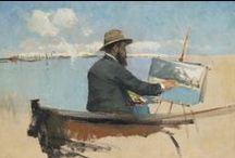 Etapa de Formación. Desde 1887 / Eliseo Meifrén Roig. Pinturas al óleo a partir de 1887.