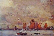 Países Bajos. / Eliseo Meifrén Roig. Pinturas al óleo de Países Bajos.
