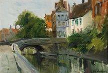 Bélgica. / Eliseo Meifrén Roig. Pinturas al óleo de Bélgica.