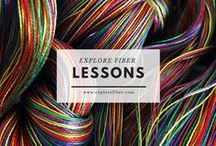 Explore Fiber Lessons / Explore free lessons from elementary to high school art ed as well as for independent fiber artist interests.