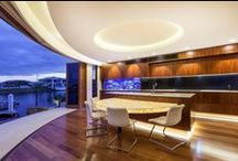 Atmospheric Lighting with Corian / Nothing is more personal than your own home. Above all, you want your home to be welcoming, but you also want it to say something about you and your sense of style.