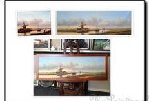 schilderij landschap / Een schilderij laten maken van een prachtig landschap? U kunt landschap schilderijen online bestellen uit onze collectie of een foto toesturen om na te laten schilderen. Vraag geheel vrijblijvend een offerte aan.