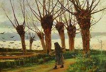 Etapa de Formación. Hasta 1886. / Eliseo Meifrén Roig. Pinturas al óleo hasta 1886.