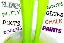 Sensory Crafts and Play recipes