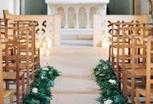 wedding decor church